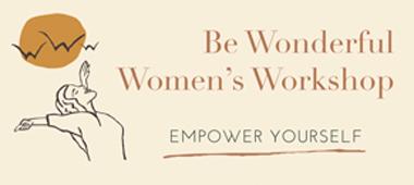 Be Wonderful Women's Workshops logo