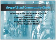 Gospel Road Community Choir logo